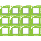 8634 3.5W G40 SMD LED FROSTED SQUARE LAMP *12 Pack Bundle*