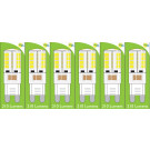 8660 4W G9 LED Silicon Lamp *6 Pack Bundle*
