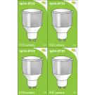 8732 LED 3.5W Cool White Opaque Spot L1/GU10 Cap ( 8722, 2886, 2884 & 2318 Replacement) 4000K * 4 Pack Bundle*