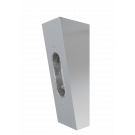 Angled Wall fitting Chrome