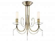 Amman 3 Arm  Satin Brass