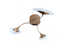 3433 Organics Ginko 3 Arm Flush Ceiling Light