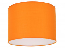 Drum Shade Tangerine