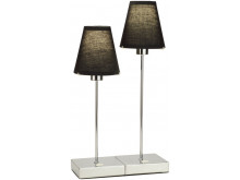 Metz Double Table Lamp