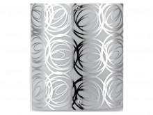 Kensington Single Wall Bracket with decorative glass