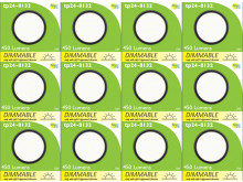 8132 Frosted Round G40 SMD LED Dimmable *12 Pack Bundle*