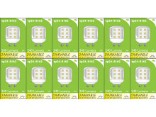 8162 L1X 3W Dimmable Pygmy Lamp *12 Pack Bundle*