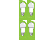 8513 LED 9W Frosted GLS ES/E27 Cap *4 Pack Bundle*