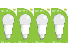 8516 LED 9W Frosted GLS L1/GU10 cap (2315 Replacement) 4000K *4 Pack Bundle*