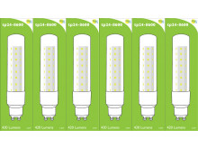 8600 L1/GU10 Tube Lamp LED 3.5w Clear Glass (2896 and 2317 replacement) *6 Pack Bundle*