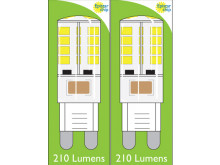 8660 3W G9 LED Silicon Lamp *2 Pack Bundle*