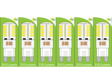 8660 3W G9 LED Silicon Lamp *6 Pack Bundle*