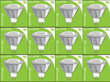 8700 3.5W MR16/ GU5.3 LED Spot Clear (Replacement for 2900/2902) *12 Pack Bundle*