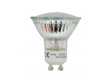 8710 LED 3.5W Clear Spot L1/GU10 Cap (2882 & 2880 Replacement)