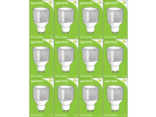 8732 LED 3.5W Cool White Opaque Spot L1/GU10 Cap (2842, 8722, 2886, 2884 & 2318 Replacement) 4000K *12 Pack Bundle*