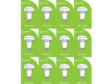 8752 LED 8W ES/E27 R063 Spot Lamp *12 Pack Bundle*