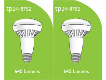 8752 LED 8W ES/E27 R063 Spot Lamp *2 Pack Bundle*