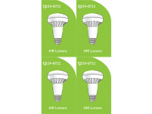 8752 LED 8W ES/E27 R063 Spot Lamp *4 Pack Bundle*
