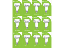 8754 LED ES/E27 R080 10W Spot Lamp *12 Pack Bundle*