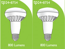 8754 LED ES/E27 R080 10W Spot Lamp *2 Pack Bundle*
