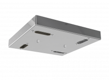 9014 4 Way Flush Square Head Chrome
