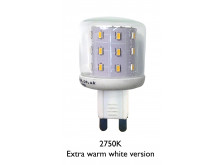 3786 LED 3W Clear Pygmy G9 Cap