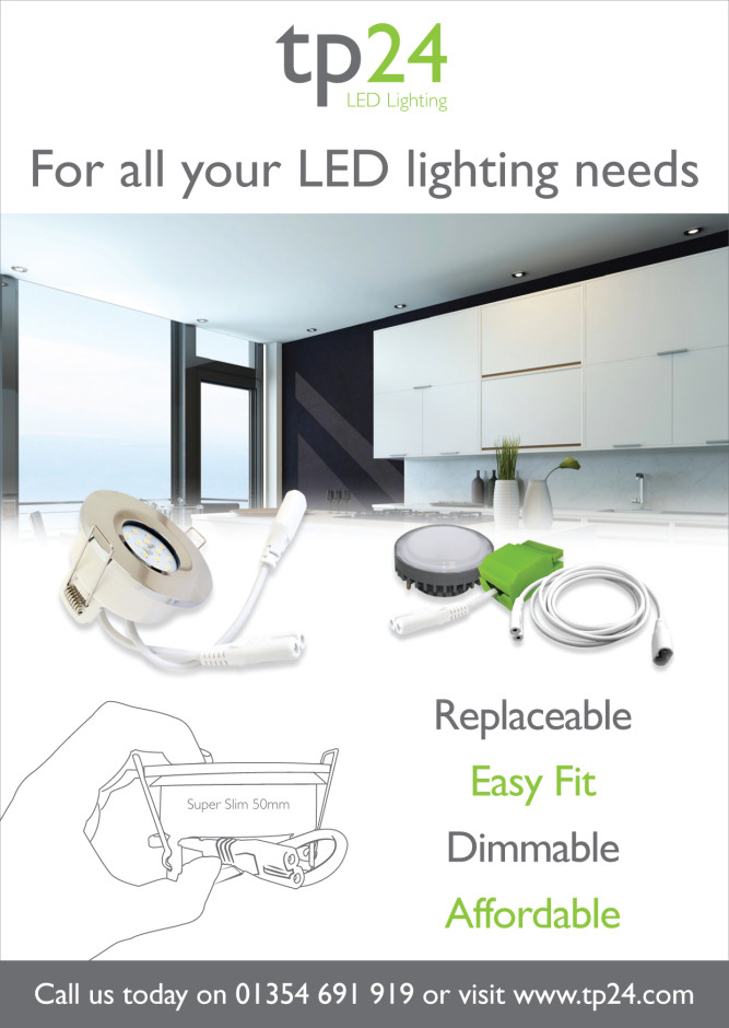 Extenting your home guide tp24 G40 downlight advert
